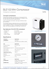 SLE100 Mini Compressor (English)