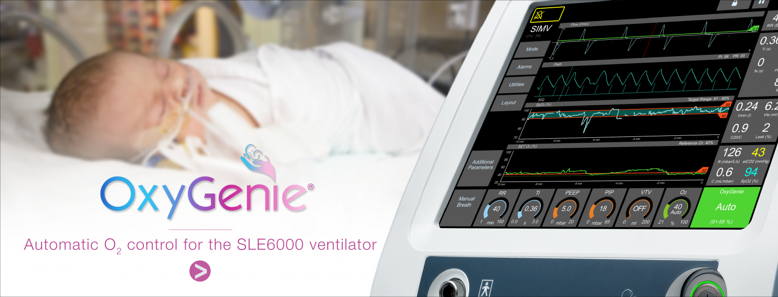 Automatic O2 Control for the SLE6000 Ventilator