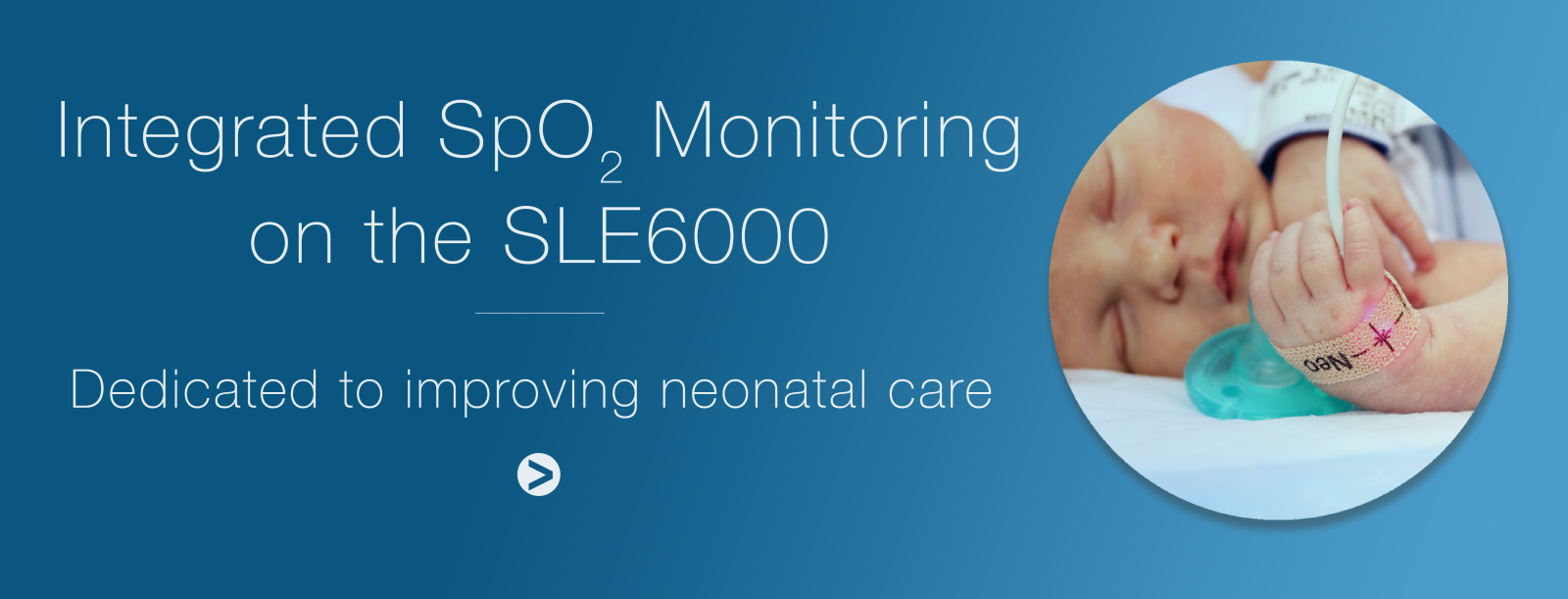 LE has launched a new SpO2 module for use with the SLE6000 ventilator.